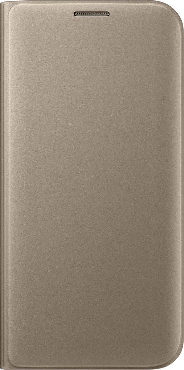 Official Flip Wallet - Θήκη Samsung Galaxy S7 Edge - Gold (EF-WG935PFEGWW)