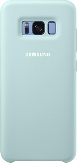 Samsung Official Silicon Cover - Silky and Soft-Touch Finish - Θήκη Σιλικόνης Samsung Galaxy S8 - Blue (EF-PG950TLEGWW)