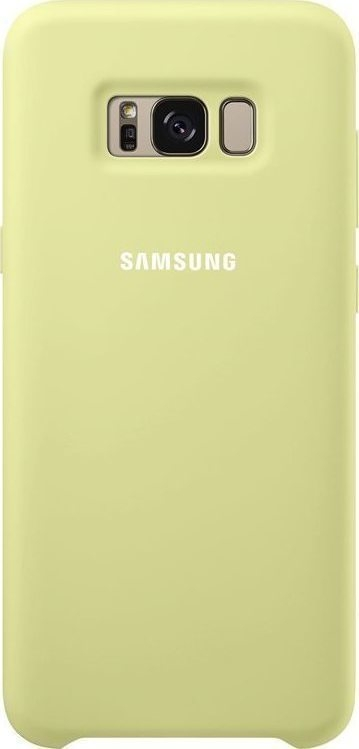 Samsung Official Silicon Cover - Silky and Soft-Touch Finish - Θήκη Σιλικόνης Samsung Galaxy S8 Plus - Green (EF-PG955TGEGWW)