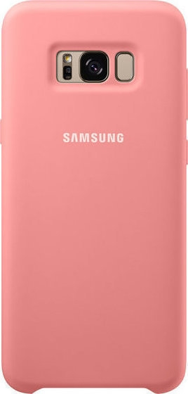 Samsung Official Silicon Cover - Silky and Soft-Touch Finish - Θήκη Σιλικόνης Samsung Galaxy S8 Plus - Pink (EF-PG955TPEGWW)