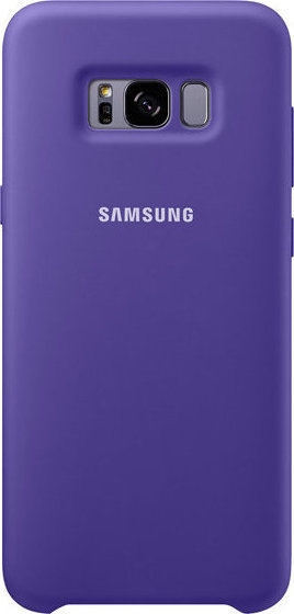 Samsung Official Silicon Cover - Silky and Soft-Touch Finish - Θήκη Σιλικόνης Samsung Galaxy S8 Plus - Violet (EF-PG955TVEGWW)