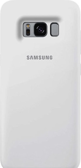 Samsung Official Silicon Cover - Silky and Soft-Touch Finish - Θήκη Σιλικόνης Samsung Galaxy S8 - White (EF-PG950TWEGWW)