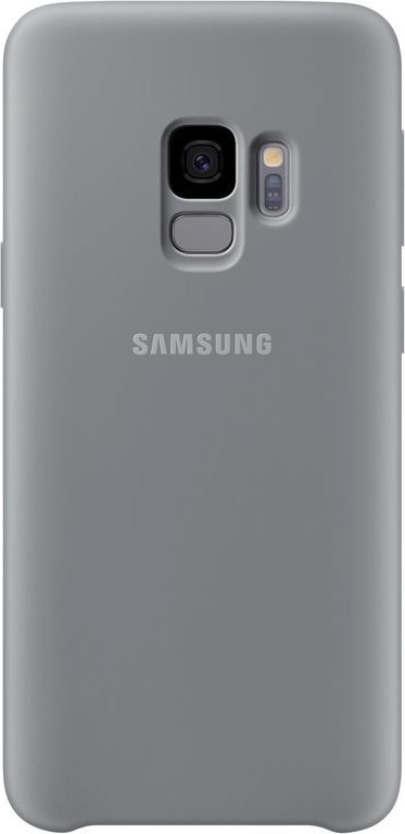 Samsung Official Silicon Cover - Silky and Soft-Touch Finish - Θήκη Σιλικόνης Samsung Galaxy S9 - Grey (EF-PG960TJEGWW)