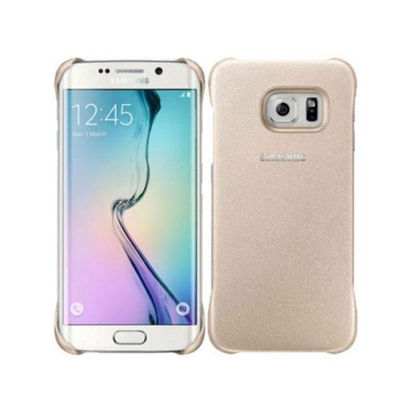 Official Σκληρή Θήκη Samsung Galaxy S6 Edge - Gold (EF-YG925BFEGWW)
