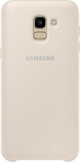 Samsung Official Dual Layer Cover Samsung Galaxy J6 2018 - Gold (EF-PJ600CFEGWW)