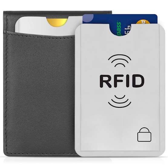 Savisto RFID Card Sleeves - Αντικλεπτικές Θήκες για Πιστωτικές Κάρτες - 20 τμχ - Silver (SV-HOUS-Z093)