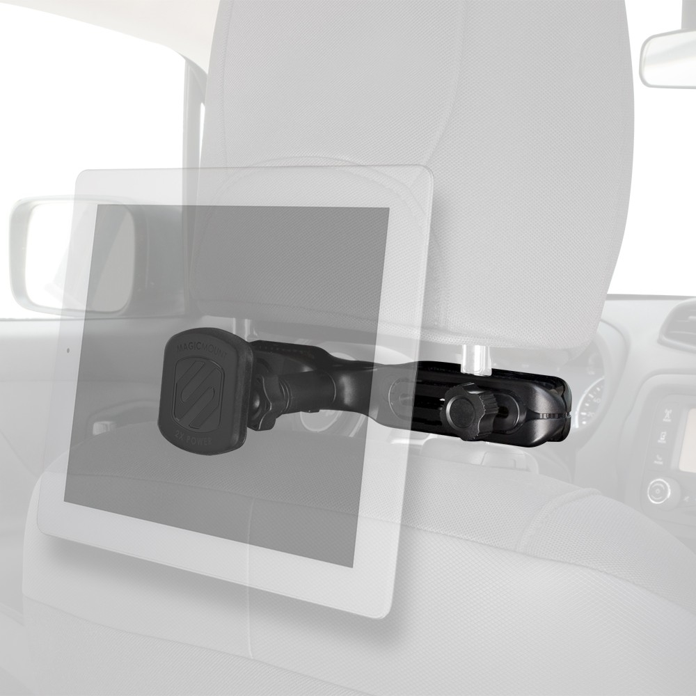 Scosche MagicMount XL Headrest -  Μαγνητική Βάση Στήριξης Tablet για Κάθισμα Αυτοκινήτου (MAGTHM2I)
