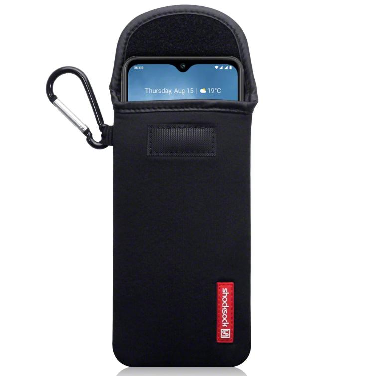 Shocksock Θήκη - Πουγκί Nokia 6.2/7.2 - Black (121-001-014)