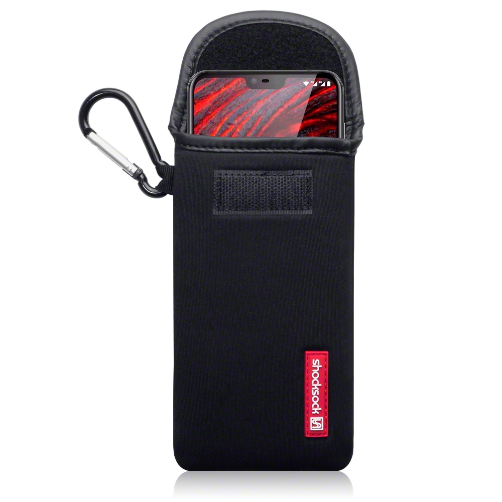 Shocksock Θήκη - Πουγκί Nokia 6.1 Plus - Black (121-001-010)