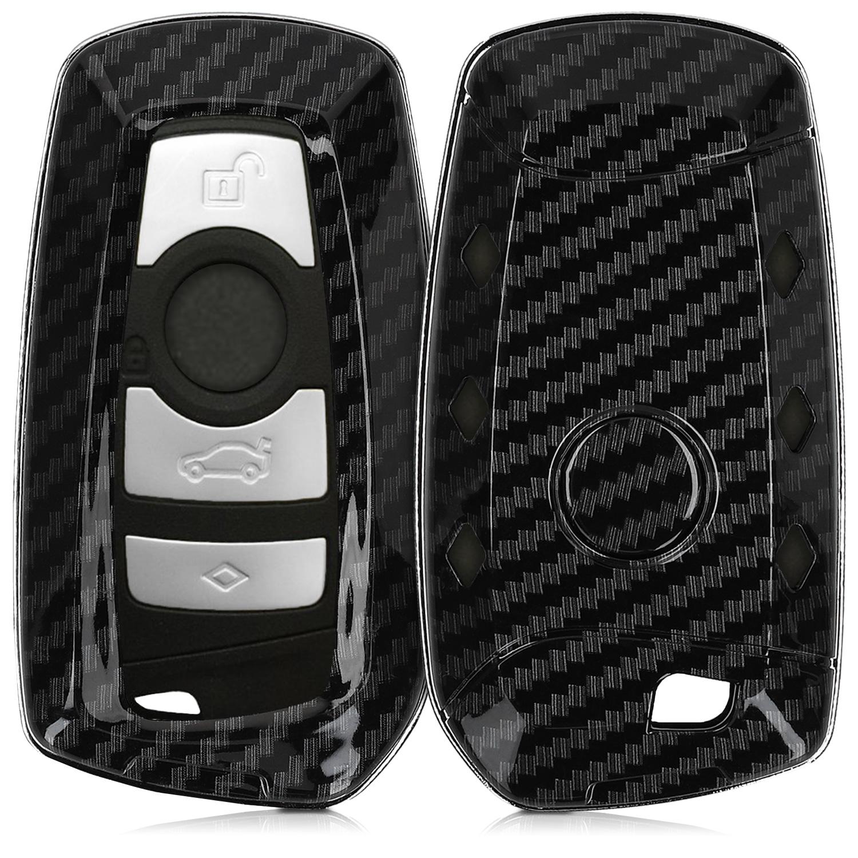 KW Σκληρή Θήκη Κλειδιού BMW - 3 Κουμπιά - Black (47859.01)