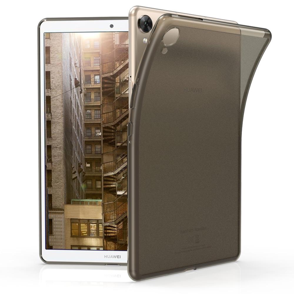 KW Θήκη Σιλικόνης Huawei MediaPad M6 8.4 -  Black / Matte Transparent (49323.01)
