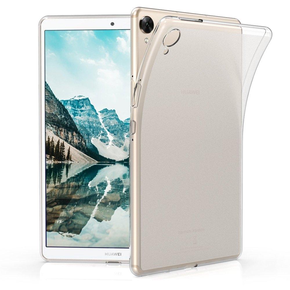 KW Θήκη Σιλικόνης Huawei MediaPad M6 8.4 - Matte Transparent (49323.03)