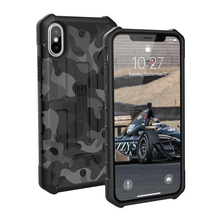 UAG Aνθεκτική Θήκη Pathfinder iPhone X / XS - Black Camo (IPHX-A-BC)