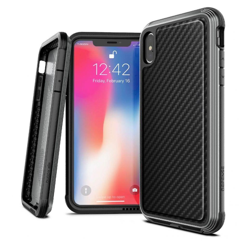 X-Doria Defense Lux Θήκη iPhone XS Max - Black Carbon (3X4C0518B)