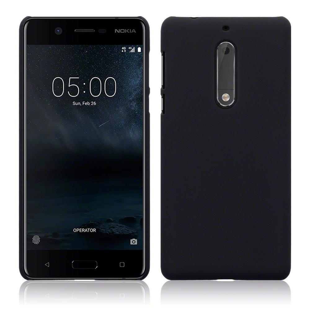 Terrapin Σκληρή Θήκη Καουτσούκ Nokia 5 - Black (151-001-064)