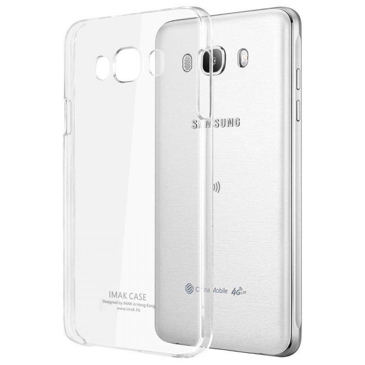 Imak Διάφανη Σκληρή Θήκη Samsung Galaxy J7 (2016) (59769)