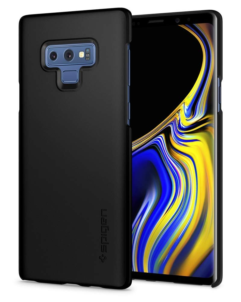 Spigen Thin Fit Θήκη Samsung Galaxy Note 9 - Black (599CS24566)