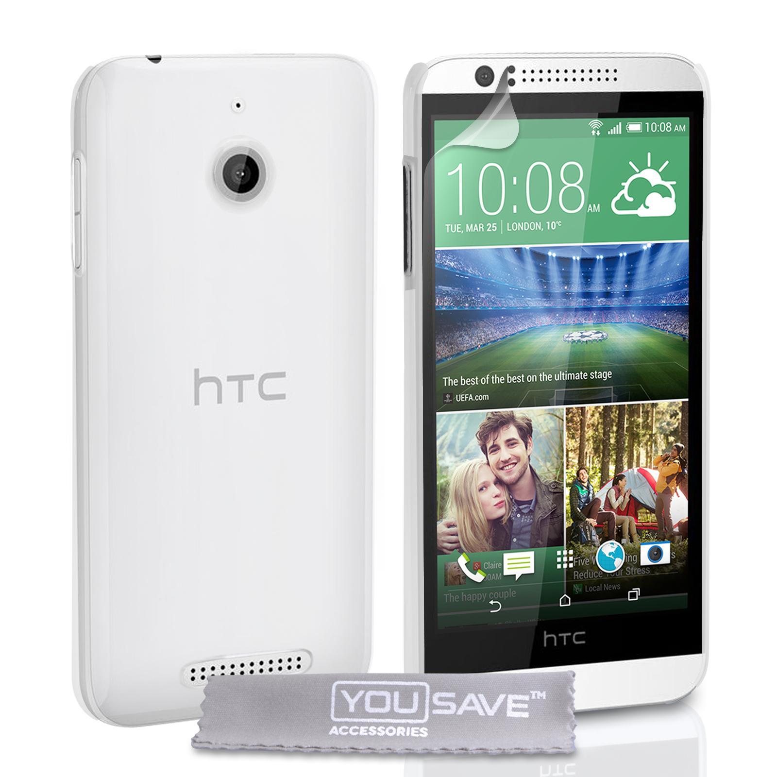 Διάφανη Θήκη HTC Desire 510 by YouSave (Z545)