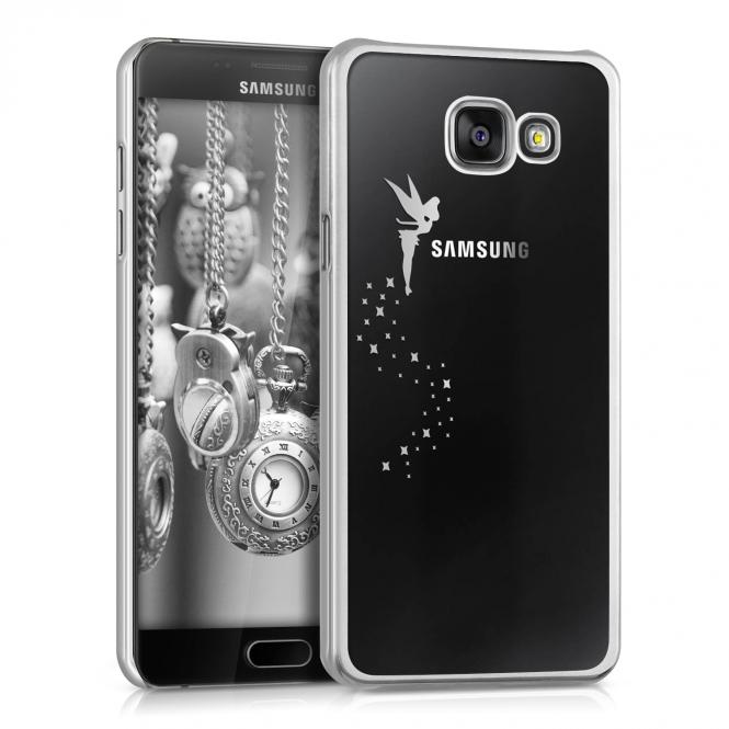 KW Σκληρή Θήκη Samsung Galaxy A5 2016 - Fairy Silver Transparent (36084.35) θήκες κινητών