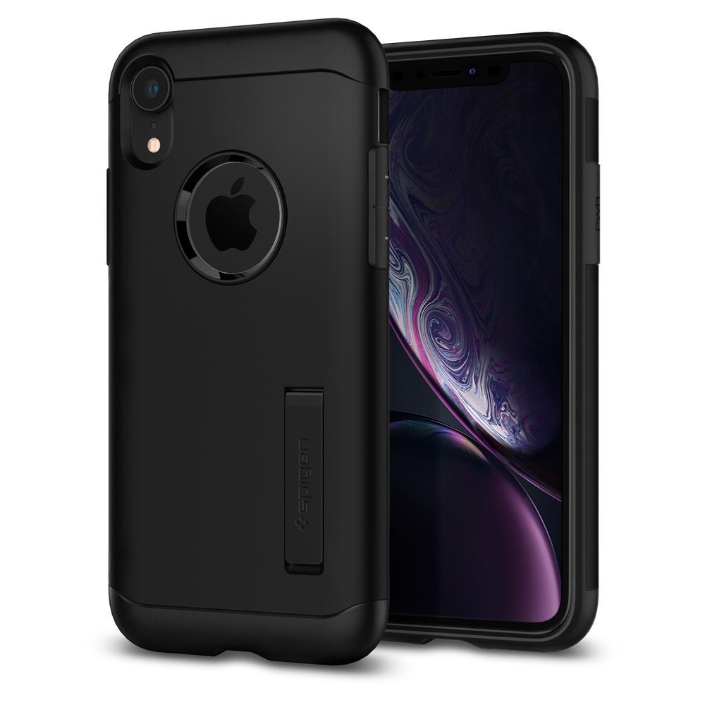 Spigen Slim Armor Θήκη iPhone XR - Black (064CS25146)