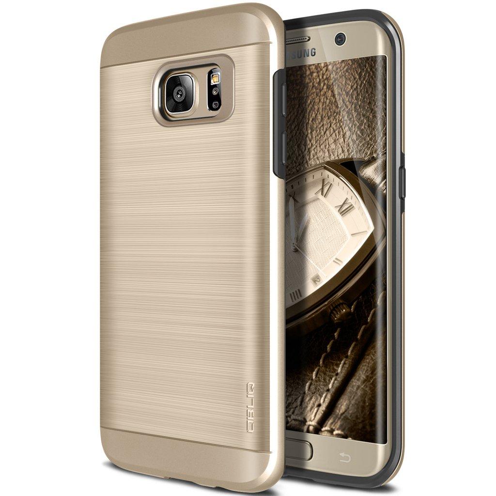 Obliq Θήκη Slim Meta Samsung Galaxy S7 Edge - Champagne Gold (OBLQSMG7SLIMA03)