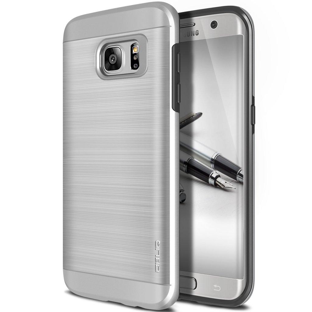 Obliq Θήκη Slim Meta Samsung Galaxy S7 Edge - Satin Silver (OBLQSMG7SLIMA04)