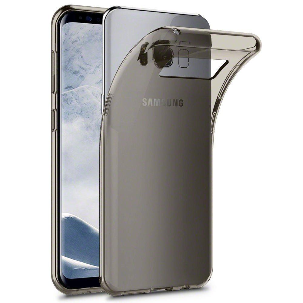 Terrapin Θήκη Σιλικόνης Samsung Galaxy S8 - Smoke Black (118-002-606)