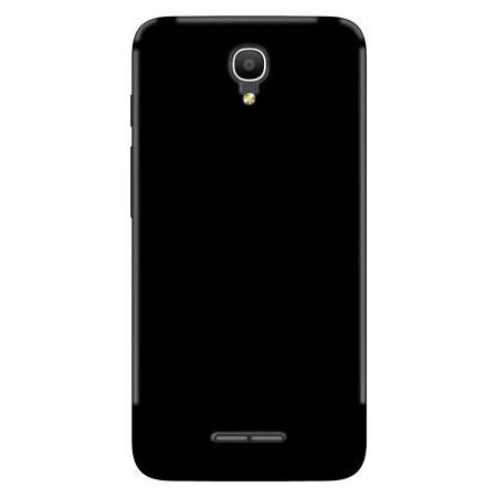 Olixar Θήκη Σιλικόνης Alcatel POP 4 - Solid Black (60971)