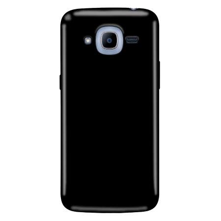 Olixar Θήκη Σιλικόνης Samsung Galaxy J2 (2016) - Solid Black (60524)