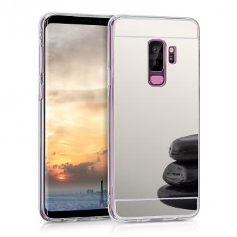KW Θήκη Σιλικόνης με Καθρέφτη Samsung Galaxy S9 Plus - Silver (44482.42)