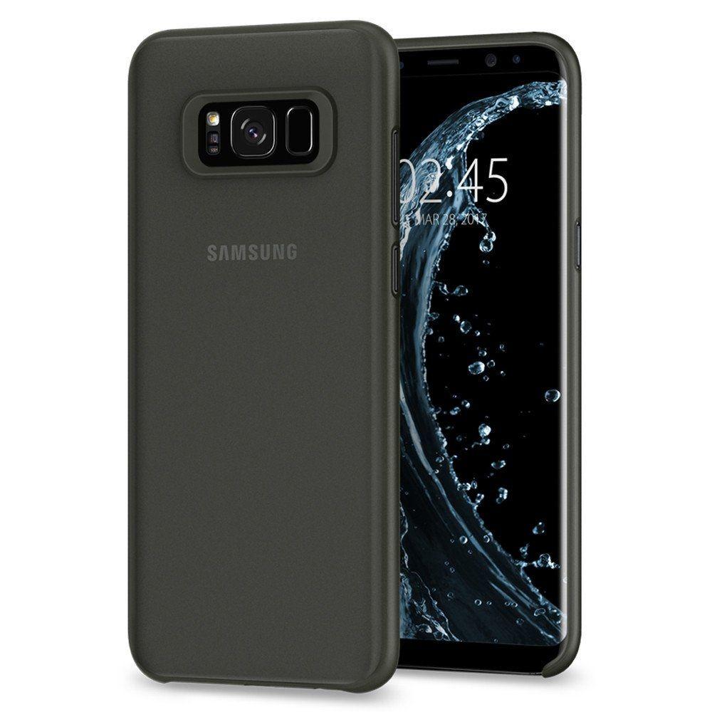 Spigen Θήκη Air Skin Samsung Galaxy S8 Plus - Black (571CS21678)