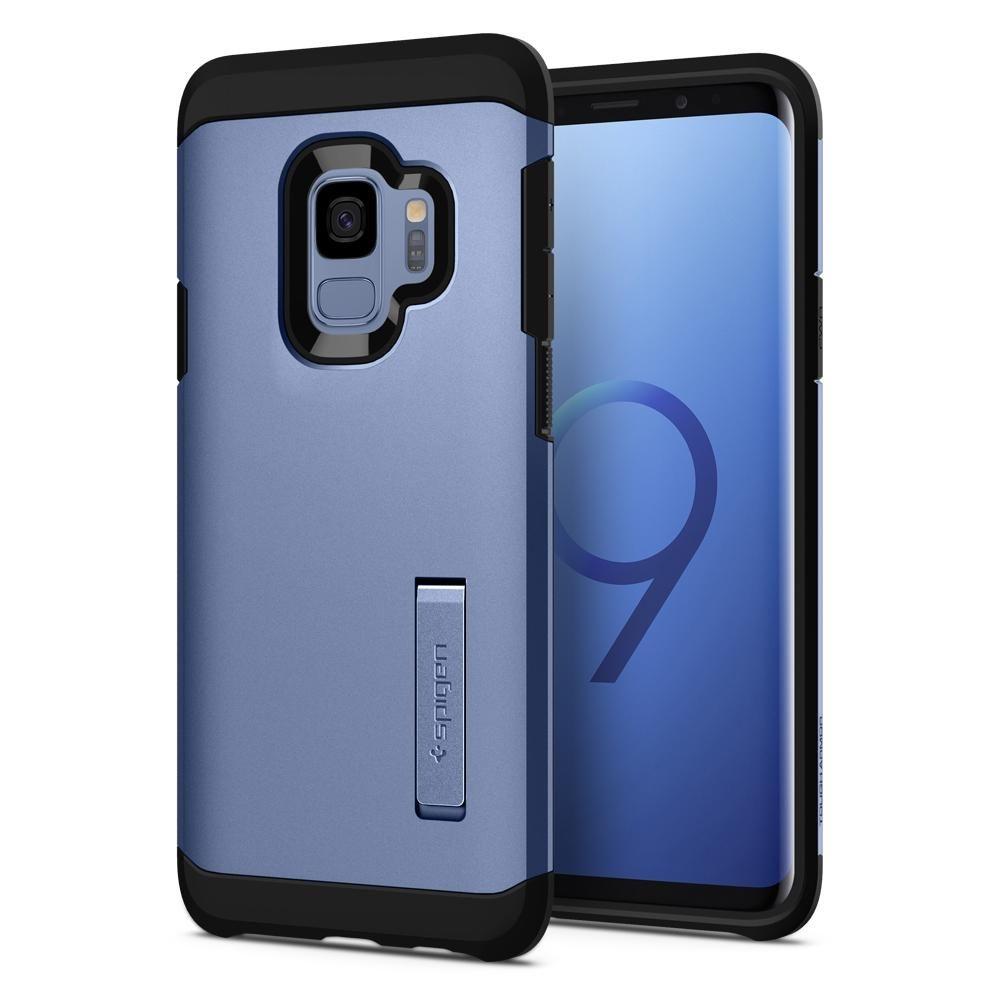 Spigen Θήκη Tough Armor Samsung Galaxy S9 - Coral Blue (592CS22850)
