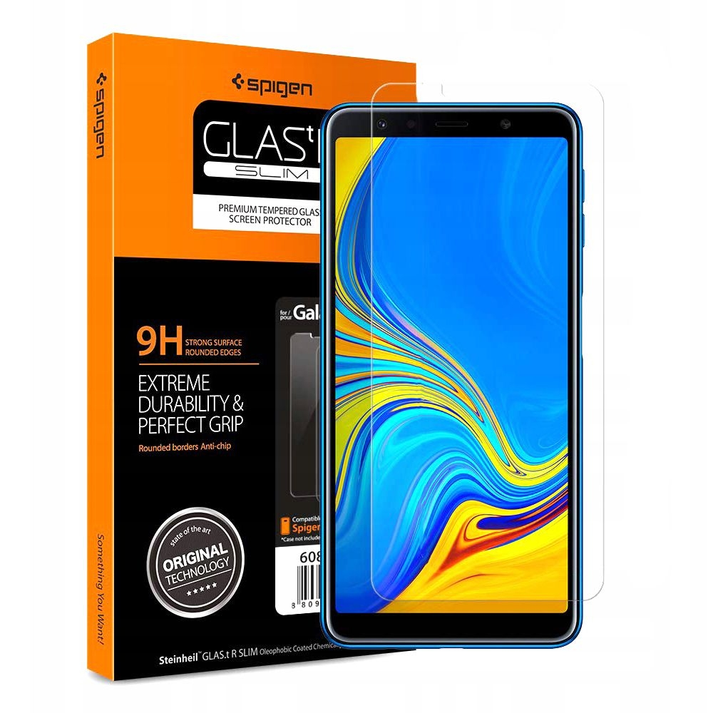 Spigen Tempered Glass GLAS.tR Slim Samsung Galaxy A7 2018 (608GL25987)