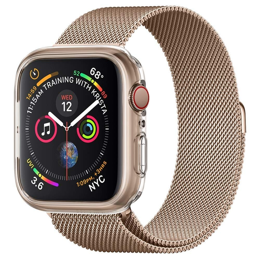 Spigen Θήκη Liquid Crystal Apple Watch 4 (44mm) - Crystal Clear (062CS24473)