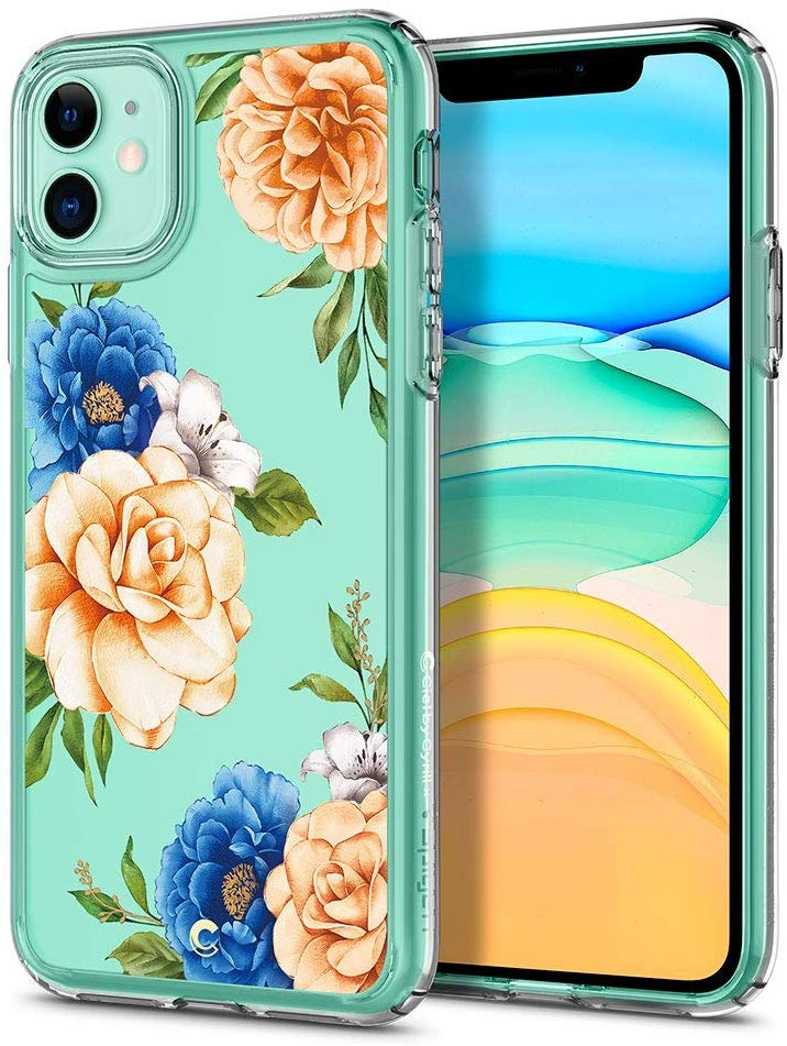 Spigen Θήκη Ciel iPhone 11 - Cecile Blue Floral (076CS27530)