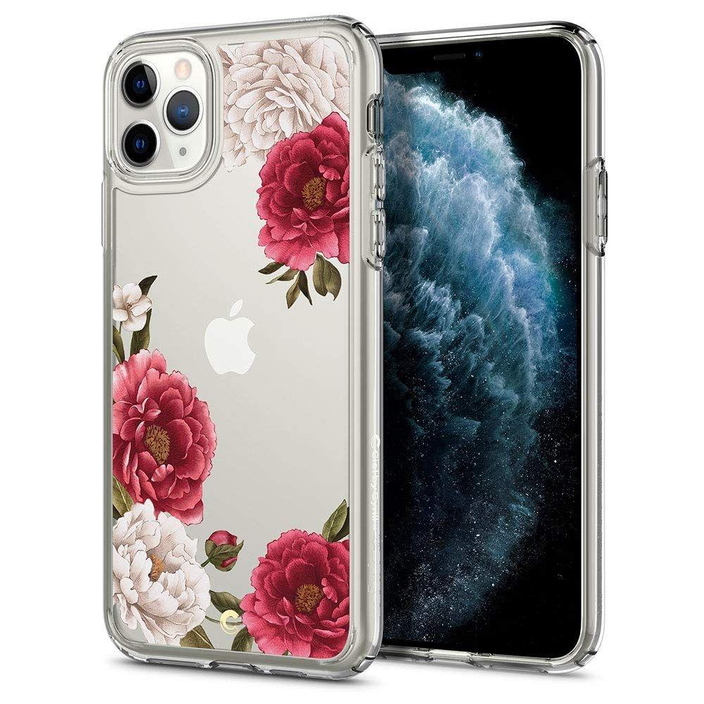 Spigen Θήκη Ciel iPhone 11 Pro Max - Red Floral (075CS27168)