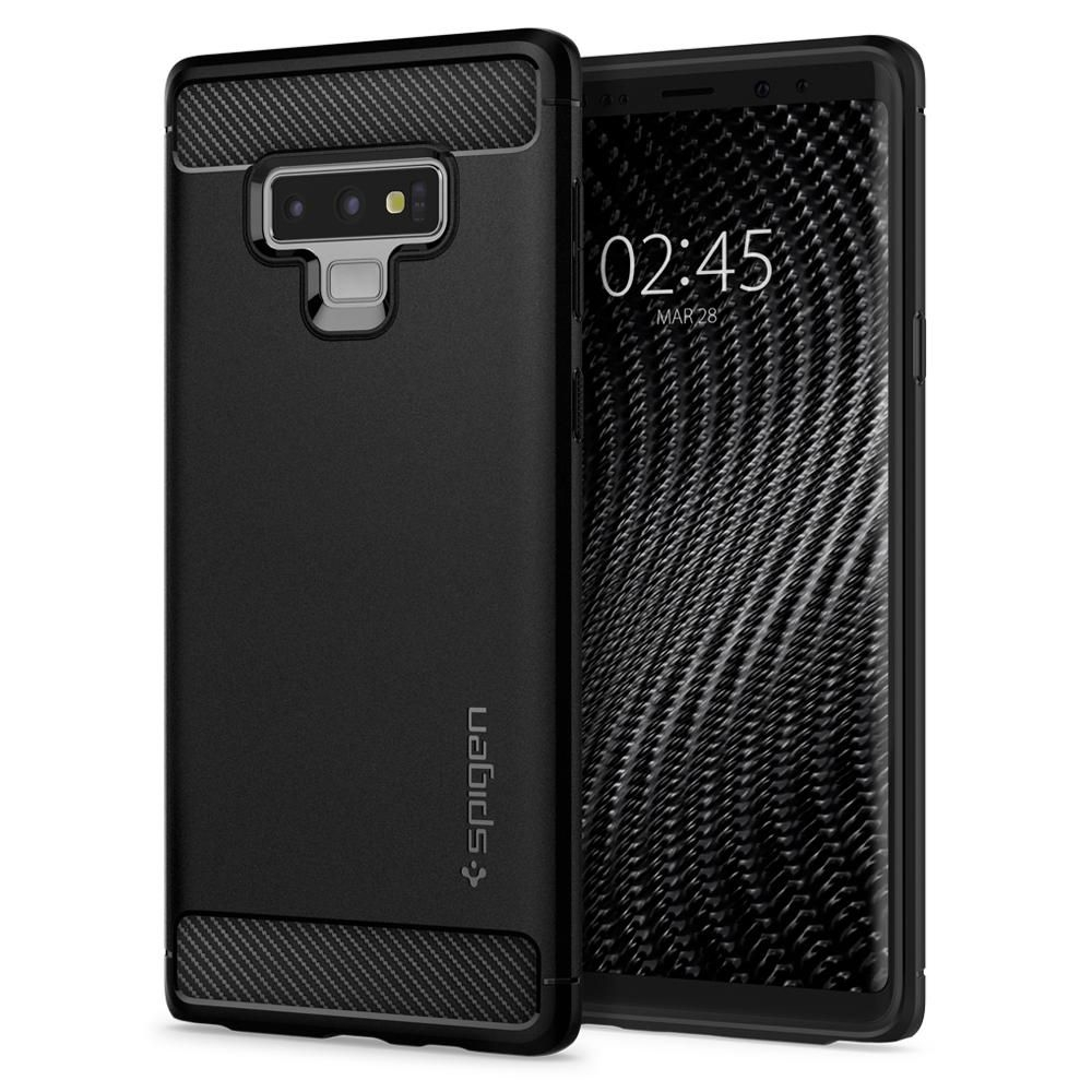Spigen Θήκη Rugged Armor Samsung Galaxy Note 9 - Black (599CS24572)