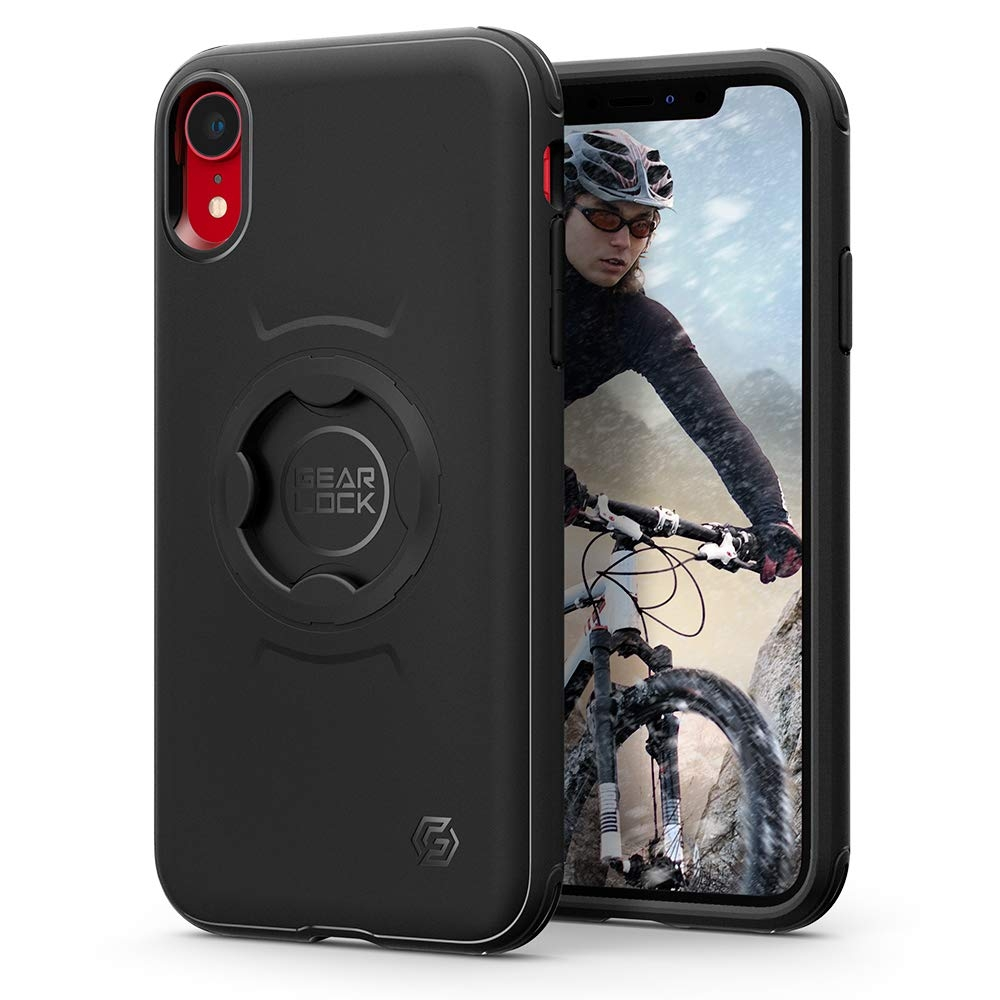 Spigen Gearlock Bike Mount Case CF102 - Θήκη iPhone XR Συμβατή με Βάσεις Bike Mount (064CS25073)