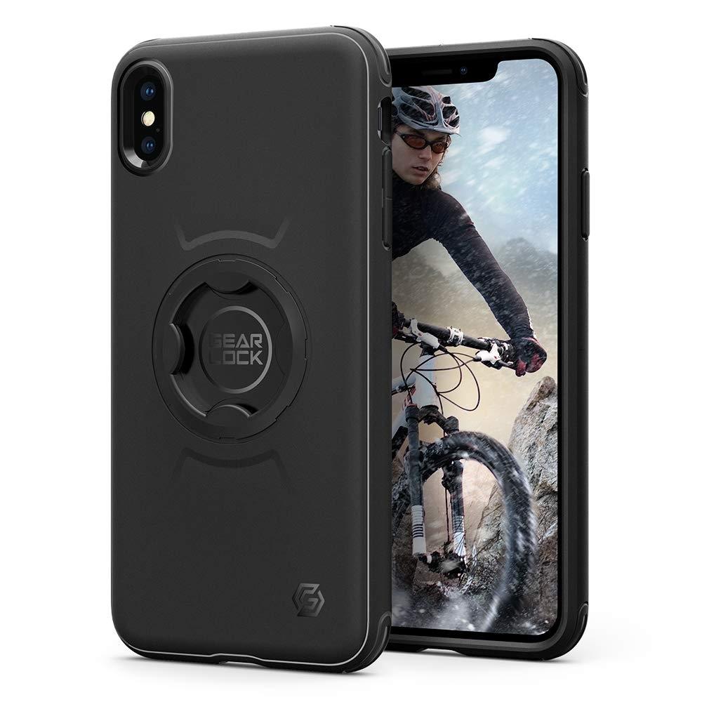 Spigen Gearlock Bike Mount Case CF103 - Θήκη iPhone XS Max Συμβατή με Βάσεις Bike Mount (065CS25074)