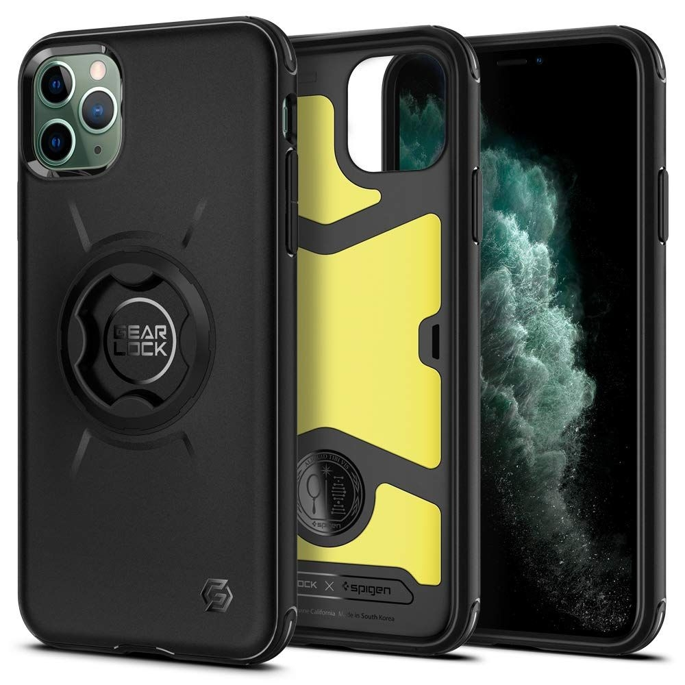 Spigen Gearlock Bike Mount Case GCF113 - Θήκη iPhone 11 Pro Συμβατή με Βάσεις Bike Mount - Black (ACS00278)
