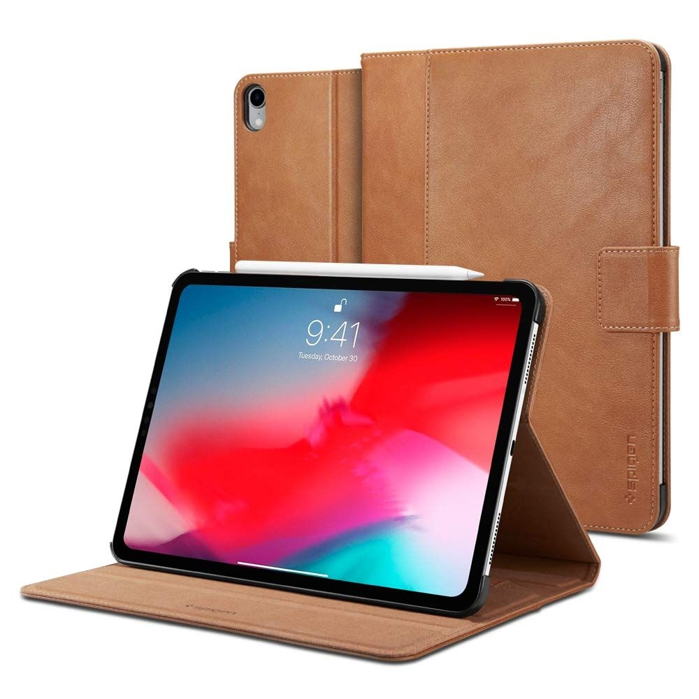Θήκη Spigen Stand Folio Case iPad Pro 11'' 2018 - Brown (067CS25645)