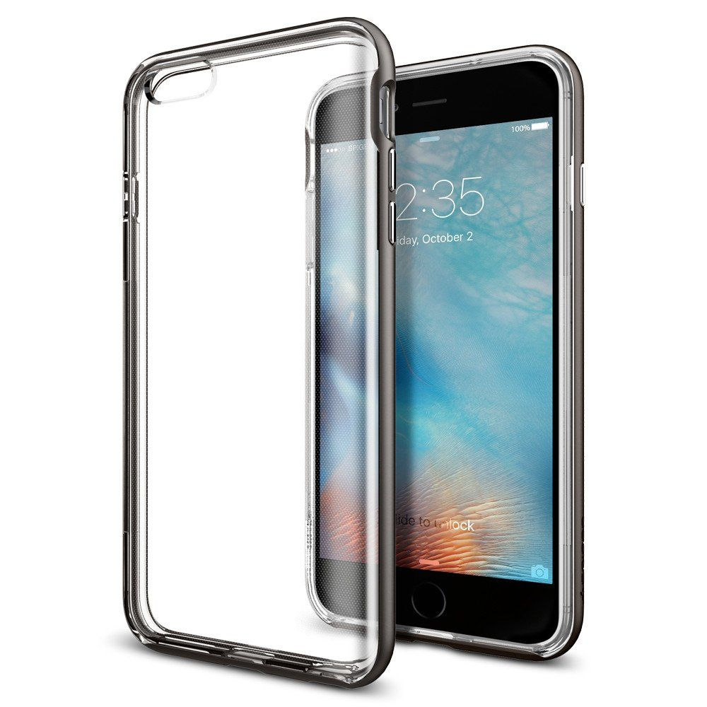 Spigen Θήκη Neo Hybrid Ex iPhone 6 Plus /6S Plus - Gunmetal (SGP11886)