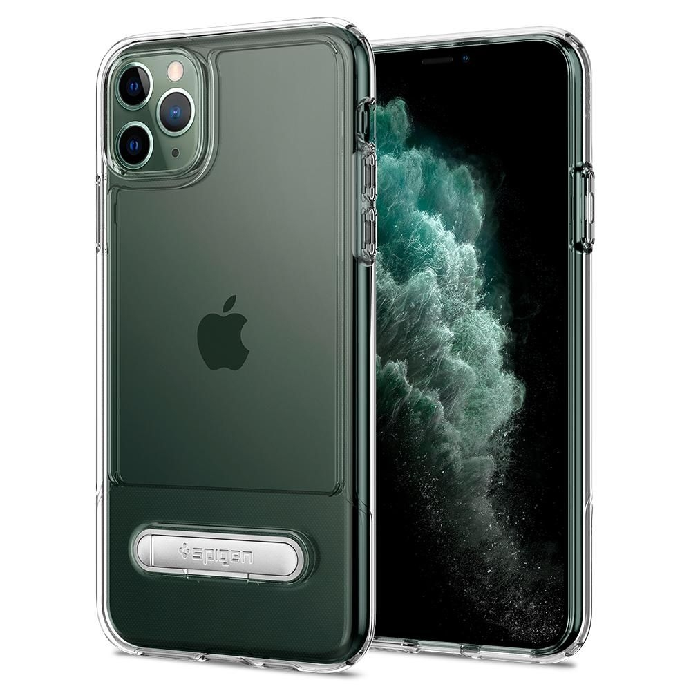 Spigen Θήκη Slim Armor Essential S iPhone 11 Pro - Crystal Clear (077CS27102)