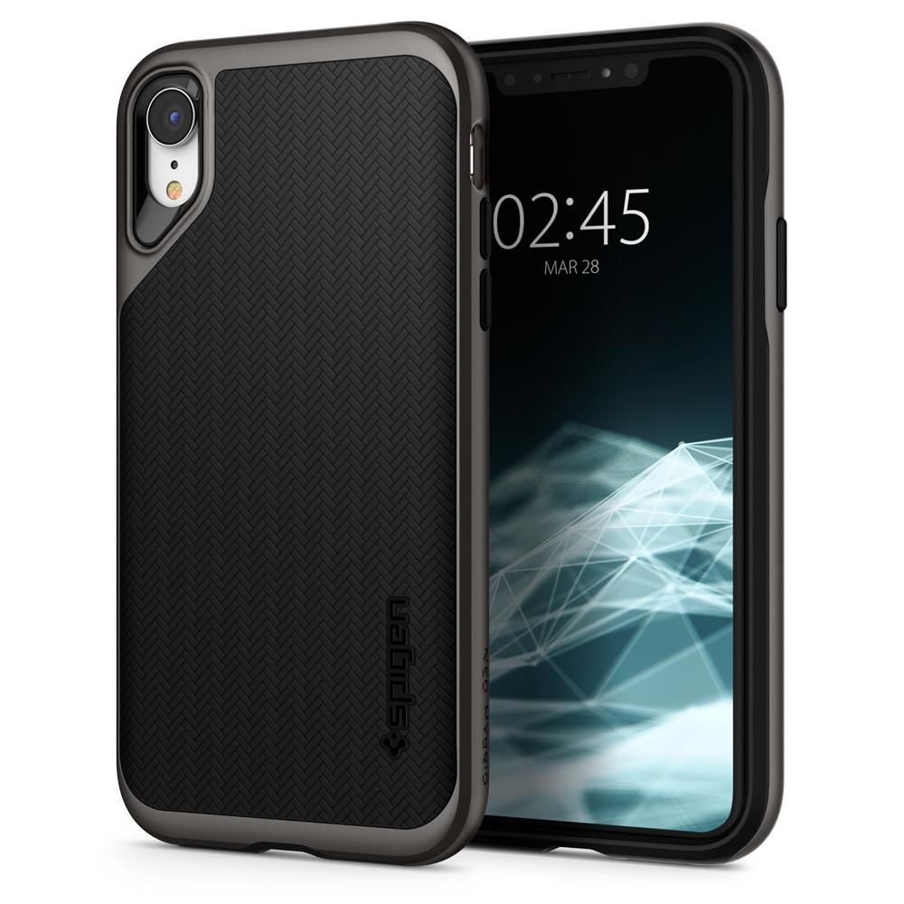 Spigen Θήκη Neo Hybrid iPhone XR - Gunmetal (064CS24878)