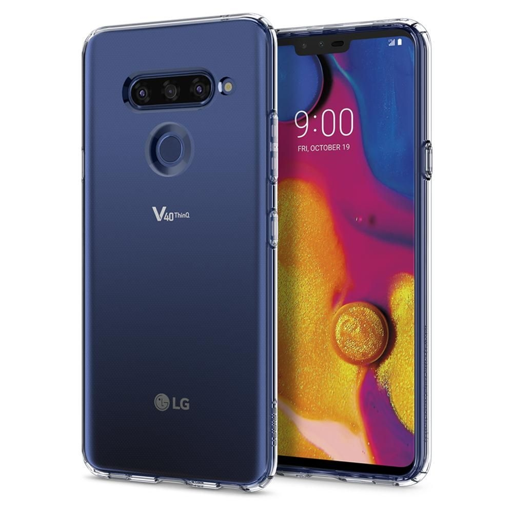 Spigen Θήκη Liquid Crystal LG V40 - Crystal Clear (A31CS25045)