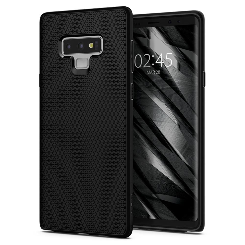 Spigen Θήκη Liquid Air Samsung Galaxy Note 9 - Black (599CS24580)