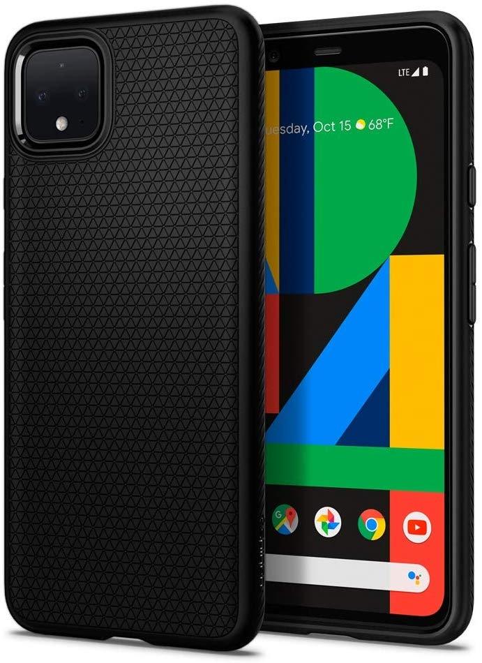 Spigen Θήκη Liquid Air Google Pixel 4 - Matte Black (F26CS27568)