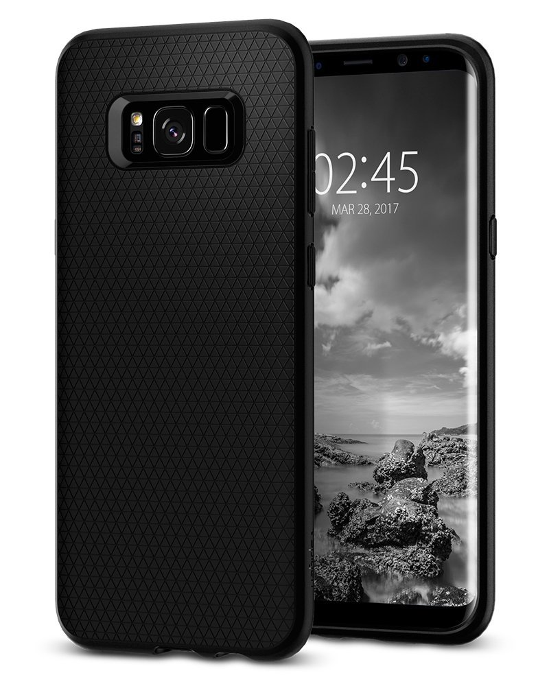 Spigen Θήκη Liquid Air Samsung Galaxy S8 Plus- Black (571CS21663)