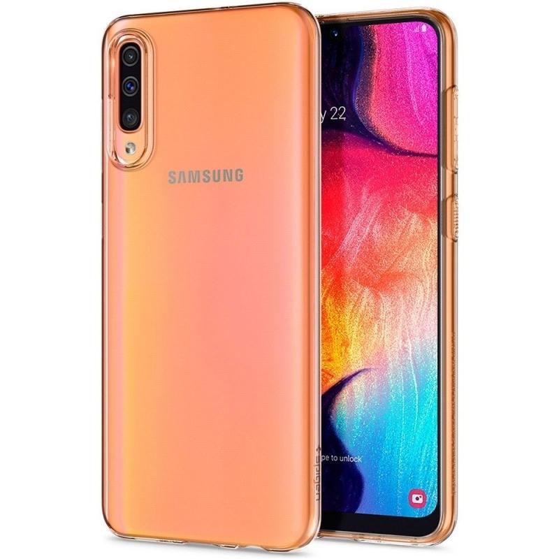Spigen Θήκη TPU Liquid Crystal Samsung Galaxy A50 - Crystal Clear (611CS26200)