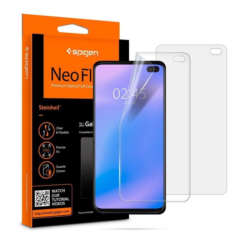 Spigen Screen Protector Neo Flex HD Samsung Galaxy S10 Plus (Case Friendly) - 2τμχ (606FL25695)